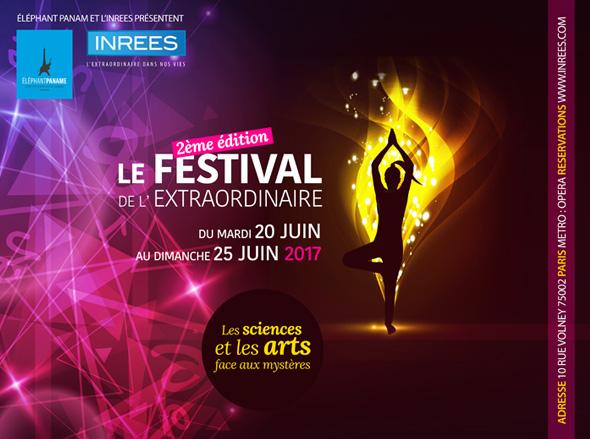 Festival de l'extraordinaire 2017 - Paris